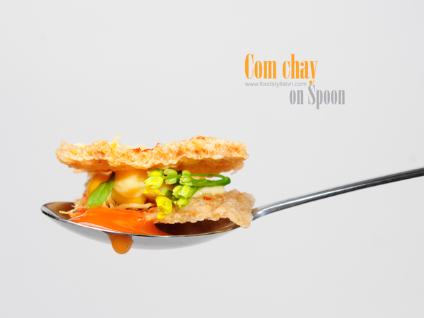 com chay on spoon porfolio egret grass food stylist Com chay on Spoon