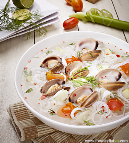 Bun-ngheu-doc-mung-egret-grass-porfolio-food-stylist