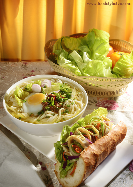 Ăn sáng - Food Styling: Egret Grass - Photograph by: Rong Vang