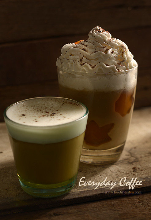 Everyday coffee - Food Styling: Egret Grass - Photograph by: Rong Vang