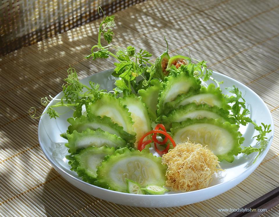 Khổ qua đất & Khổ qua rừng chà bông Food Styling: Egret Grass - Photograph by: Rong Vang