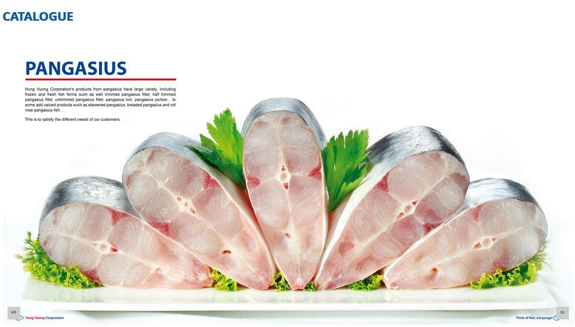 Cá basa cắt khúc Client: Hung Vuong Corporation Food Stylist: Nguyên Photograph by: Lam Chieu