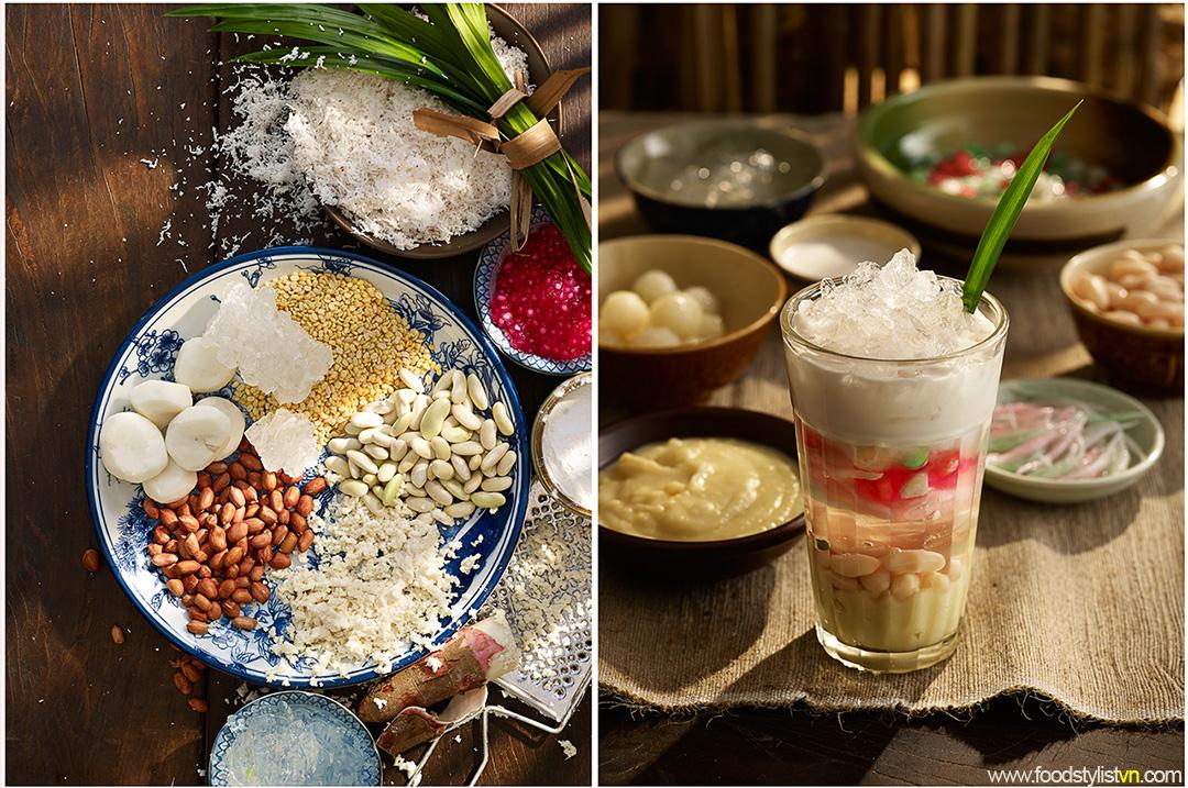 Chè sơn qui  Client: Phương Nam Book Photograph by: Wing Chan at BITE Studio Food & Prop Stylist: Tiến Nguyên