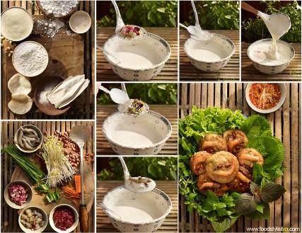 Bánh giá Chợ Giồng Client: Phương Nam Book Photograph by: Wing Chan at BITE Studio Food & Prop Stylist: Tiến Nguyên