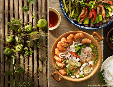 Lẩu trái bần Client: Phương Nam Book Photograph by: Wing Chan at BITE Studio Food & Prop Stylist: Tiến Nguyên