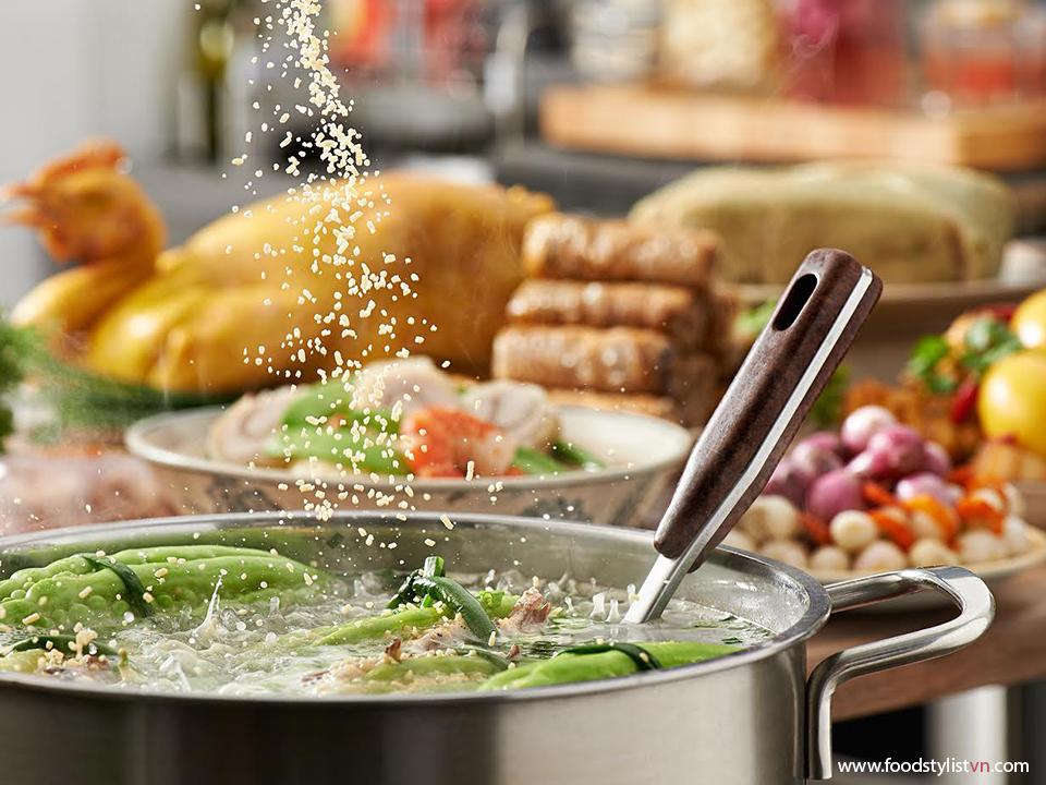 Tết nấu món gì ? Photograph by: Wing Chan at BITE Studio Food Stylist: Tiến Nguyên