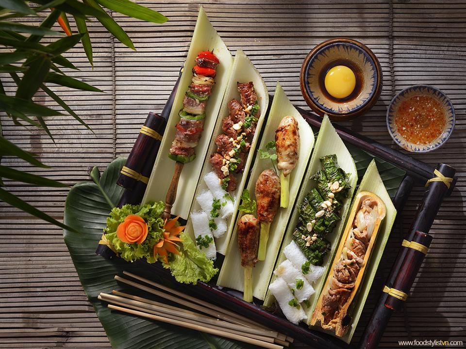 Bò nướng Client: Phương Nam Book Photograph by: Rong Vang (Nguyen Thu Tinh) Food & Prop Stylist: Tiến Nguyên