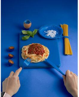 Food Stylist class: Thực hành với màu blue và mì ý